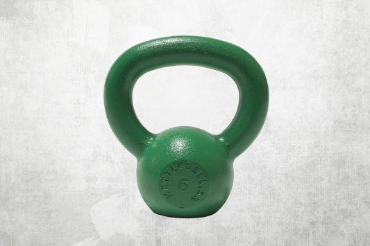 Kettlebell zelený 6kg