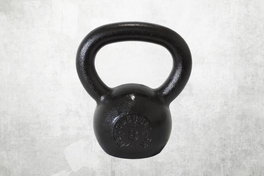 Kettlebell čierny 8kg