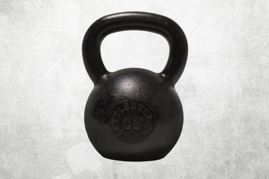 Kettlebell čierny 32kg