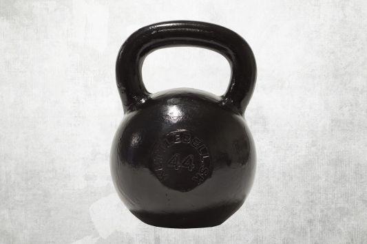 Kettlebell čierny 44kg