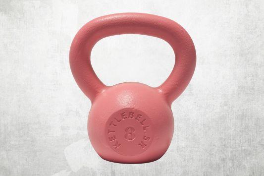 Kettlebell ružový 8kg