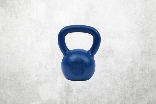 Kettlebell modrý 14kg
