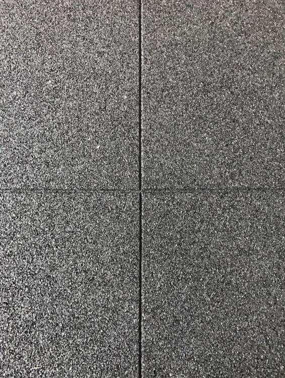 Eko Certifikovaná Gumená Podlaha 20mm, 950kg/m3, 1000mmx1000mm